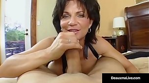 Mature Milf, Deauxma, Has Boy Toy Recklessness For Deep Aggravation Fucking!