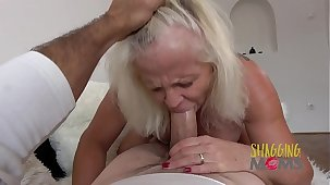 Naughty Grown up Whore Cums On A Huge Cock And Loves It