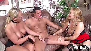 Mature german couple having entertainment