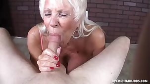 Full-grown Milf Loves His Heavy Load In Her Mouth