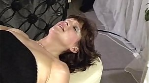 Suntanned Matured Bartender Anal Fucked By Buyer