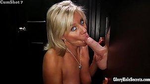 Gloryhole Secrets Mature blonde shows elsewhere her ripen be advisable for talent