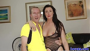 British mature apropos pov boots gets a mouthful