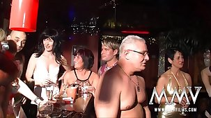 MMV Films neglected German mature swingers party