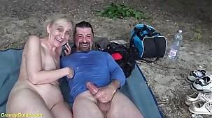 opprobrious outdoor sex for 85 lifetime old mom