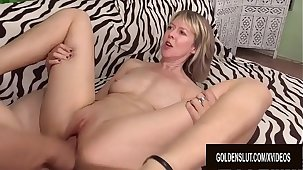 A Royal Pounding for Beautiful British Granny Jamie Foster