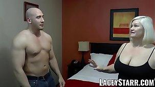LACEYSTARR - GILF seduces big dicked hunk into hard crave