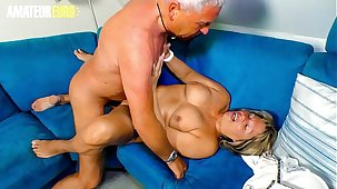 AMATEUR EURO - German Granny Karin A. Wakes Up Her Hubby Be worthwhile for Some Hardcore Fun