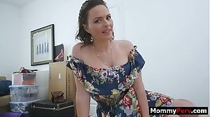Forgive me lord for fucking my step lassie - taboo family sex