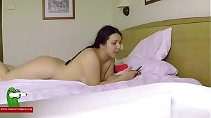 Hard coitus time. MILF caught with a hidden spycam RAF352