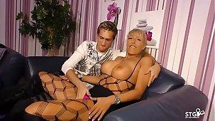 AMATEUR EURO - Sexy German MILF Lana Vegas fucks enduring in raunchy sexual intercourse tape
