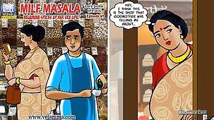 Velamma Episode 67 - Milf Masala – Velamma Spices up will not hear of Sex Life!
