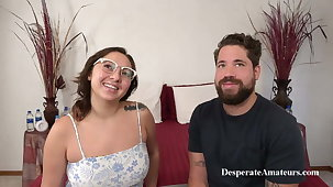 MILF Mia with chubby tits and Dave at a Casting, Desperate Amateurs